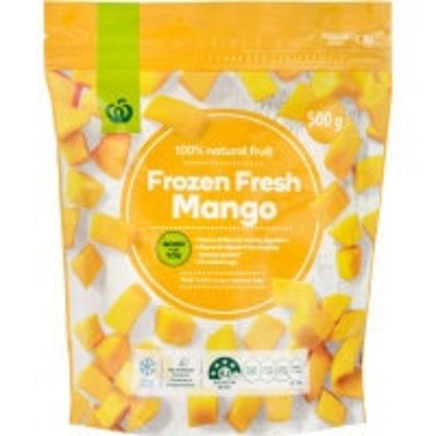 Countdown frozen mango offer at $5.5