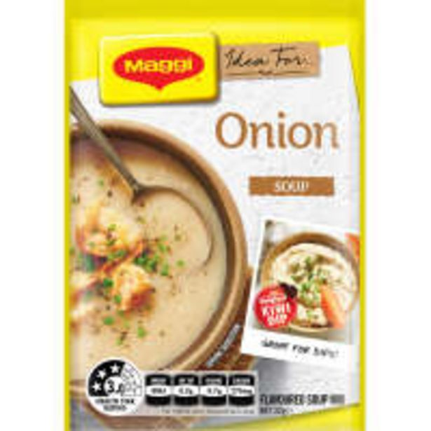Maggi packet soup onion offer at $1.3