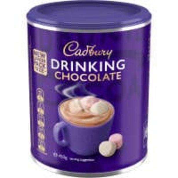Cadbury drinking chocolate offer at $4