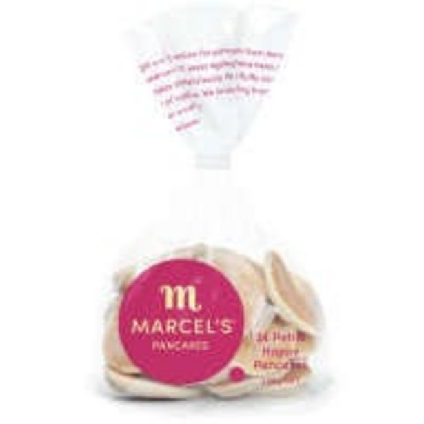 Marcels pancakes petite offer at $3.5