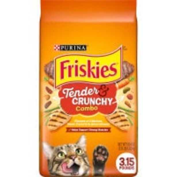 Purina friskies dry cat food tender & crunchy combo offer at $10.5