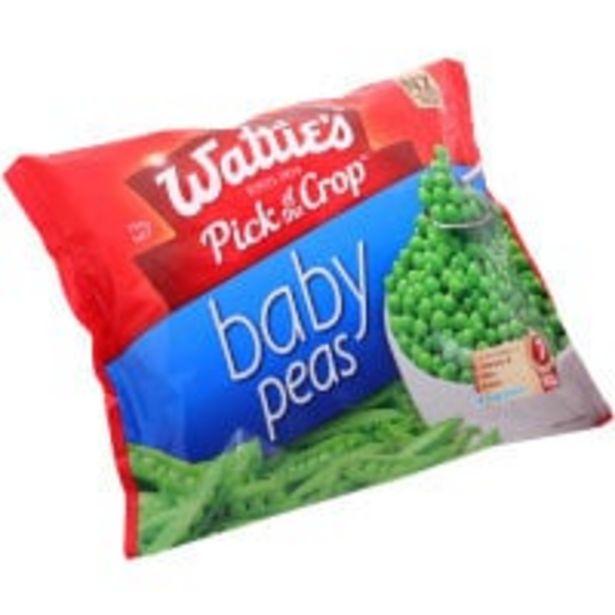 Wattie's peas baby offer at $4.8