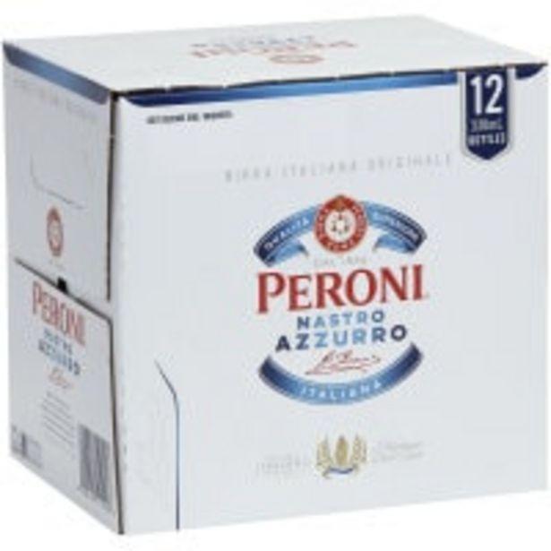 Peroni beer nastro azzurro offer at $22.5