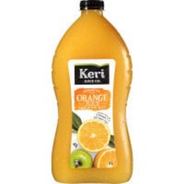 Keri original fruit juice orange with apple offer at $4