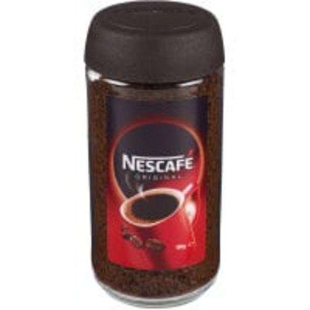 Nescafe instant coffee original offer at $6