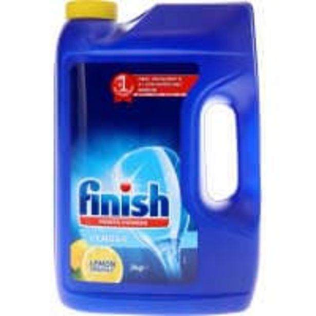 Finish dishwasher powder lemon offer at $9