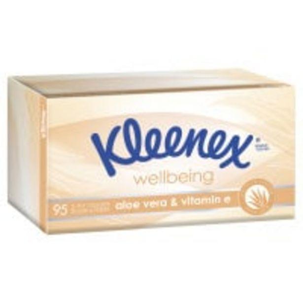 Kleenex extra care tissues aloe vera offer at $2.5