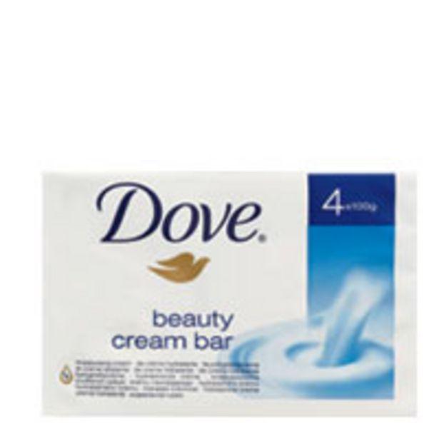 Dove beauty bar soap moisturising offer at $5