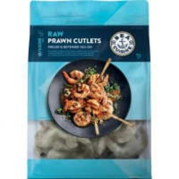 Sea cuisine prawns vannamei raw cutlets offer at $18
