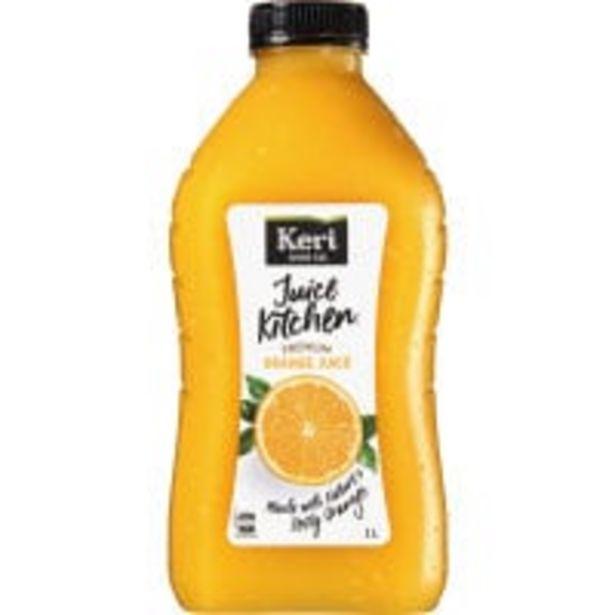 Keri premium orange juice offer at $3