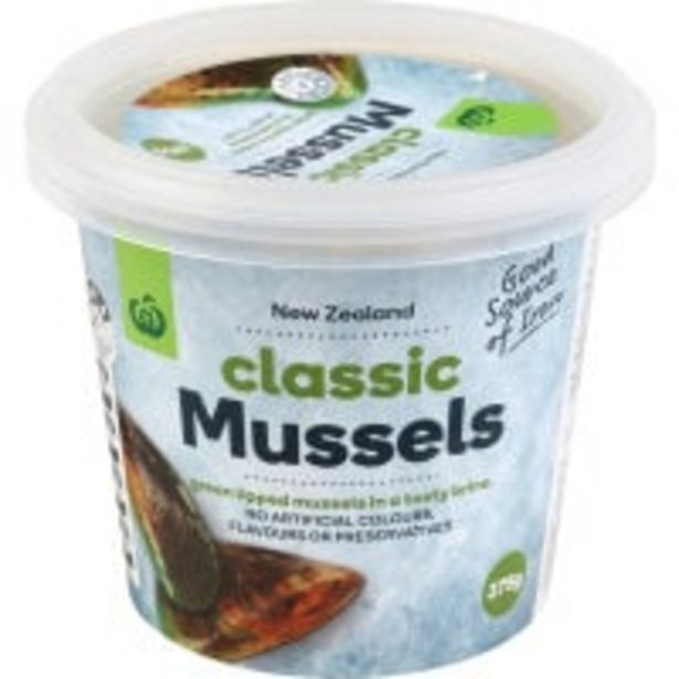 Countdown mussels marinated classic offer at $5.5