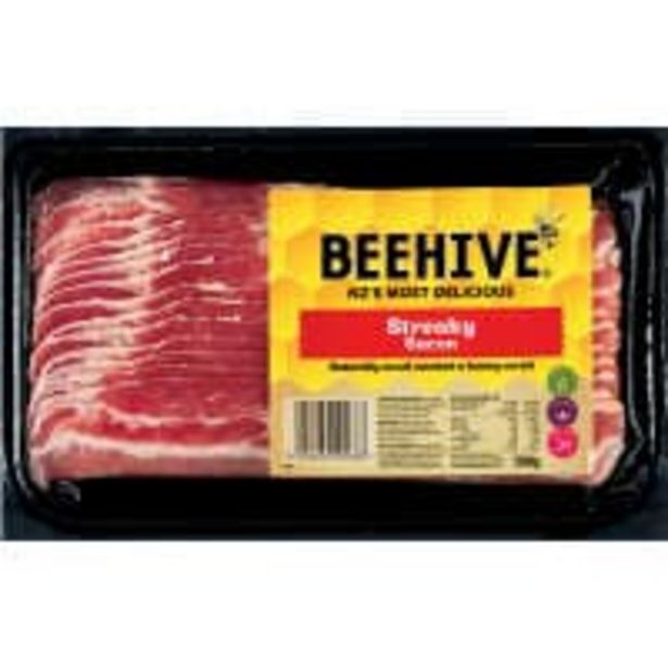 Beehive streaky bacon offer at $10