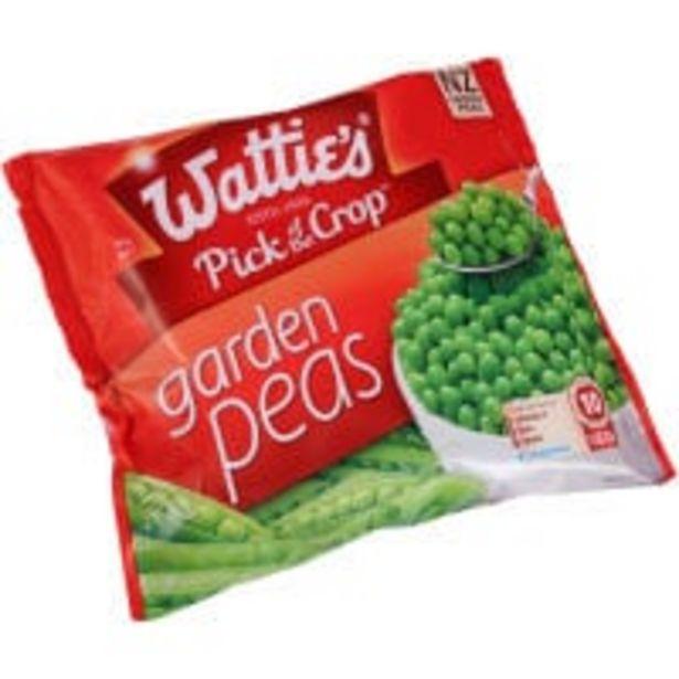 Wattie's peas garden offer at $3