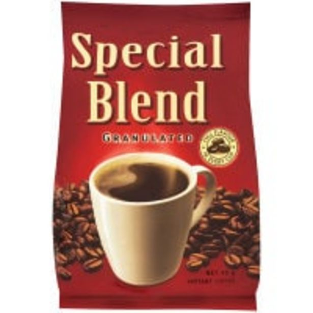 Special blend instant coffee granulated offer at $2