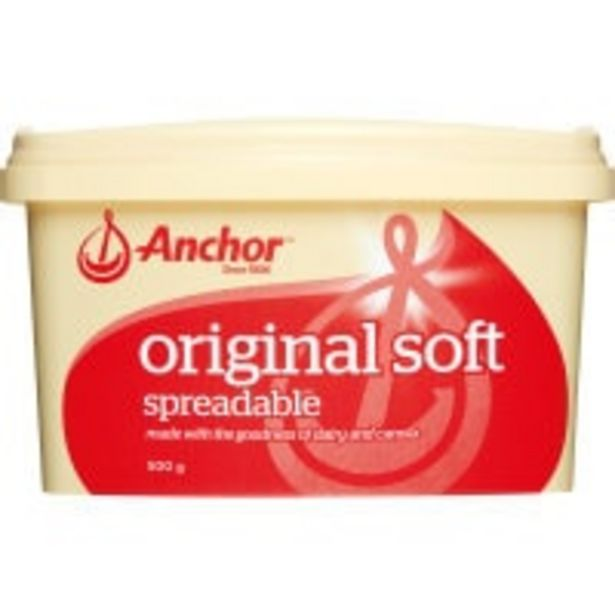 Anchor spread blue dairy blend offer at $6