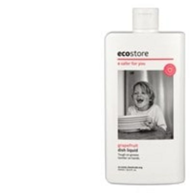Ecostore dishwash liquid grapefruit offer at $3