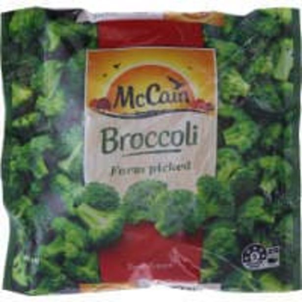Mccain broccoli offer at $4.8