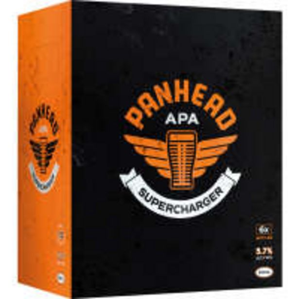 Panhead brewery beer supercharger american pale ale offer at $22
