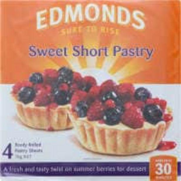 Edmonds sweet short pastry 1kg offer at $5.5