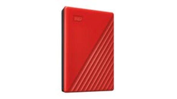 WD My Passport USB 3.0 External Hard Drive 2TB - Red offer at $99