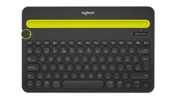 Logitech K480 Bluetooth Keyboard - Black offer at $93