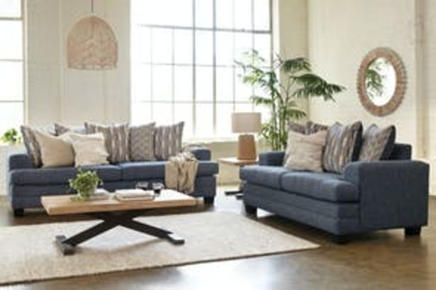 Morgan 2 Piece Fabric Lounge Suite by Furniture Haven offer at $3649
