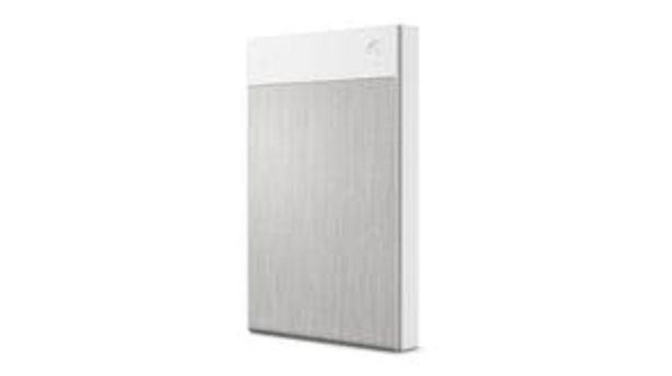 Seagate Ultra Touch Portable 2TB Hard Drive - White offer at $123