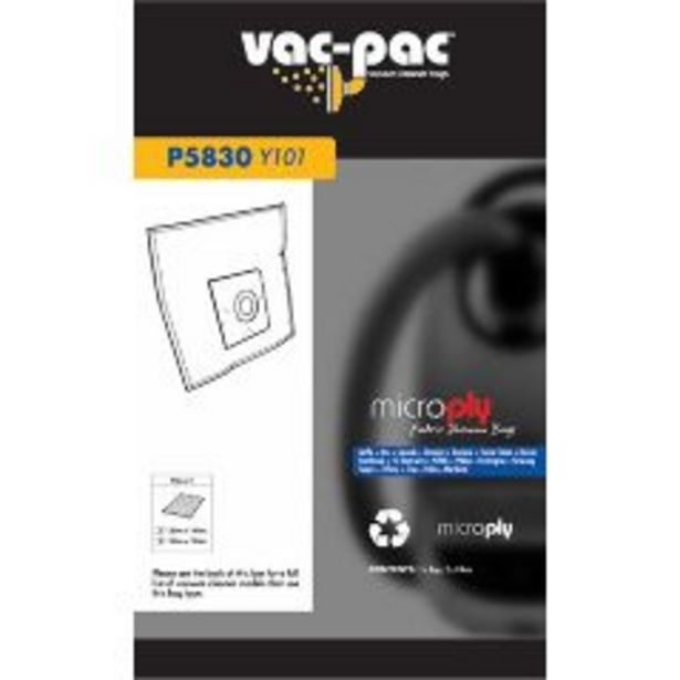 Vac-Pac Microply Fabric Vacuum Bag offer at $21.99