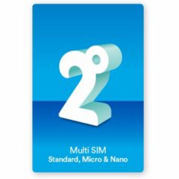 2degrees Multi SIM offer at $3.5