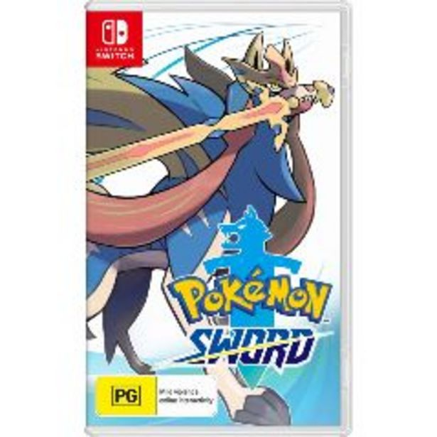 Nintendo Switch Pokemon Sword offer at $89