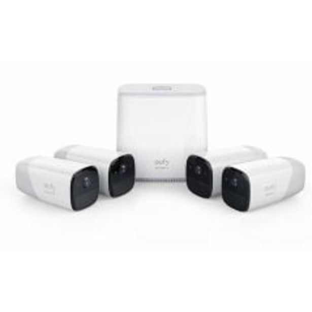 Eufy Cam Security Kit 4 Pack offer at $1599