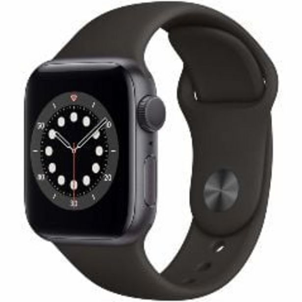 Apple Watch Series 6 40mm GPS Space Grey Aluminium Case with Black Sport Band offer at $699