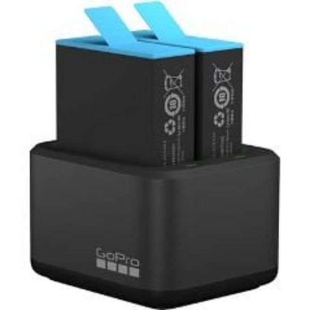 GoPro Dual Battery Charger + Battery for HERO9 Black offer at $109.99