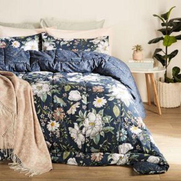 Living & Co Comforter Set 3 Piece Marisa Blue offer at $42