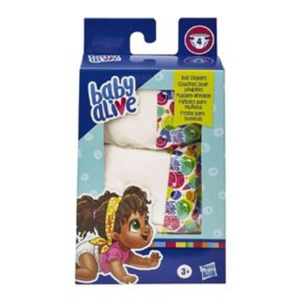 Baby Alive Diaper Pack offer at $7.5