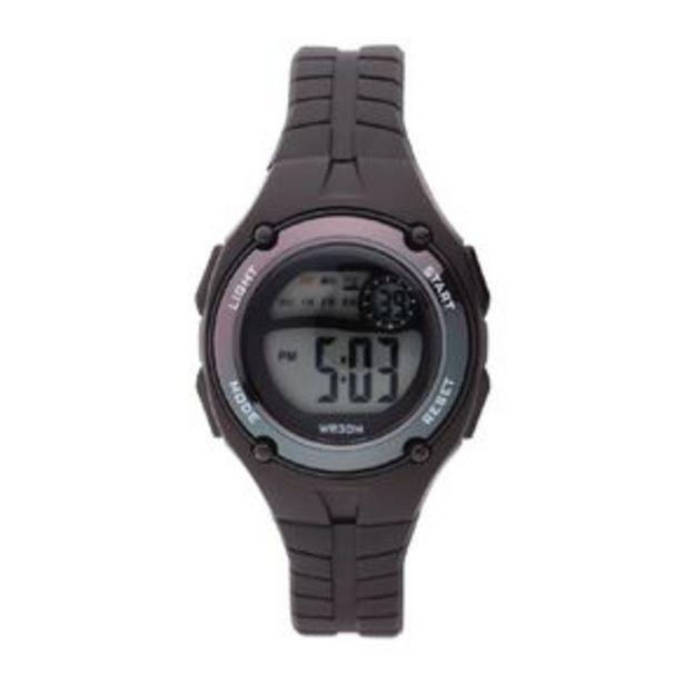 Little Tix Kids' Digital Watch Iridescent Black offer at $20
