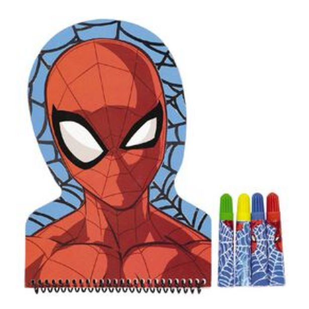 Spider-Man Shaped Notebook & Felts Set offer at $4.99