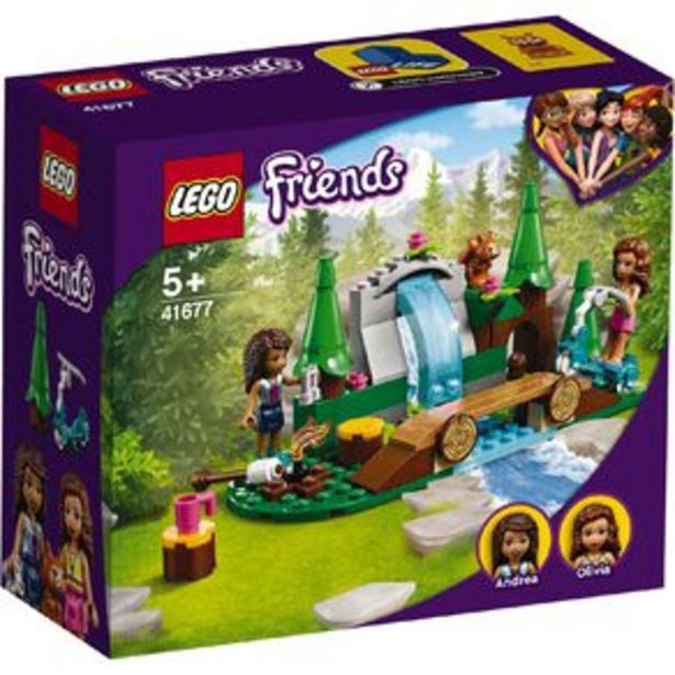 LEGO Friends Forest Waterfall 41677 offer at $16