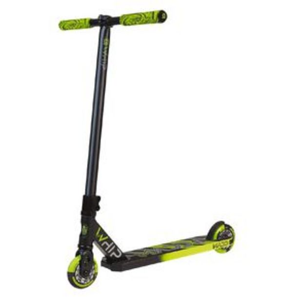 MADD Whip Pro 2020 2 Piece Bar Scooter Black/Green offer at $139