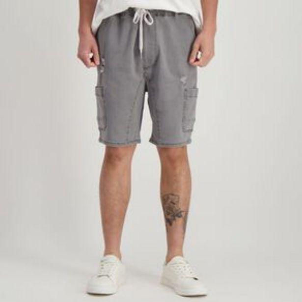 H&H Men's Elasticated Waist Vintage Cargo Shorts offer at $9.97