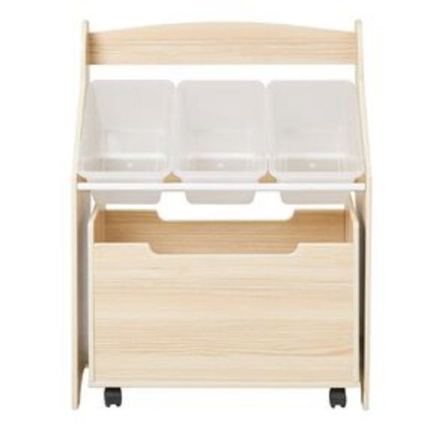 Living & Co Pandi Kids Organiser Unit with Toy Box offer at $69