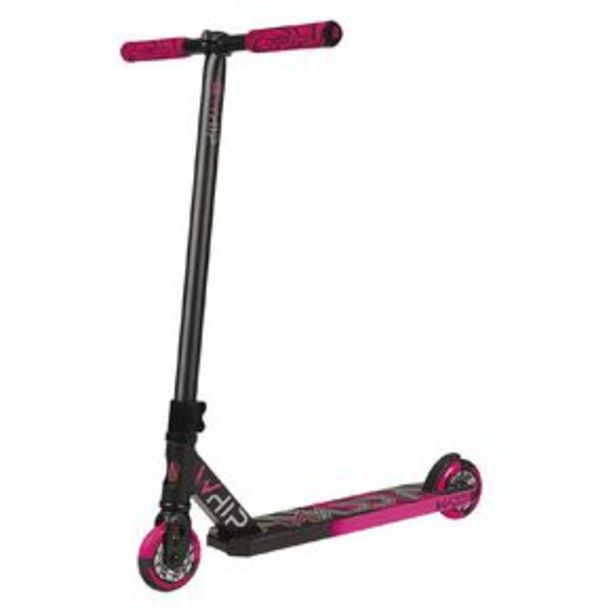 MADD Whip Pro  2020 2 Piece Bar Scooter Black/Pink offer at $139