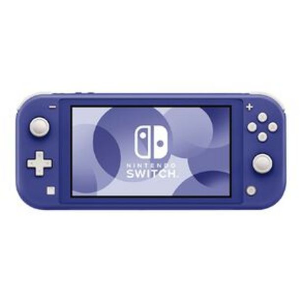Nintendo Switch Console Lite Blue offer at $379