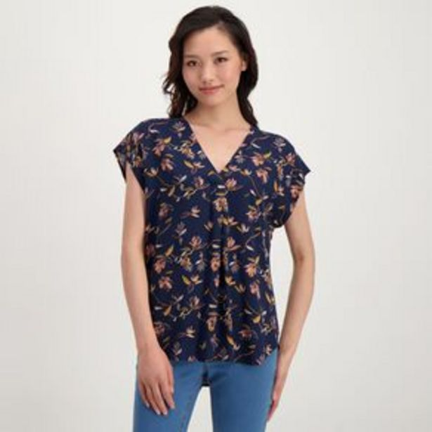H&H Women's Tuck Front Shell Top offer at $15.98