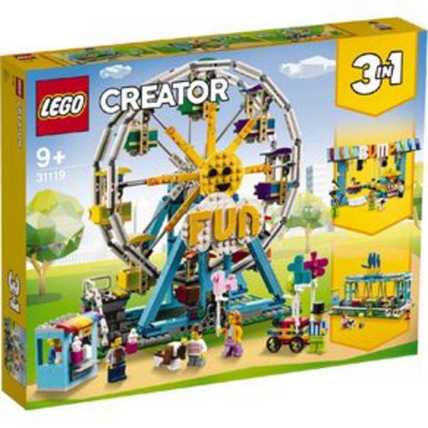 LEGO Creator Ferris Wheel 31119 offer at $144