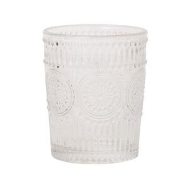 Living & Co Boho Moroccan Double Old Fashion Glass 4 Pack offer at $15