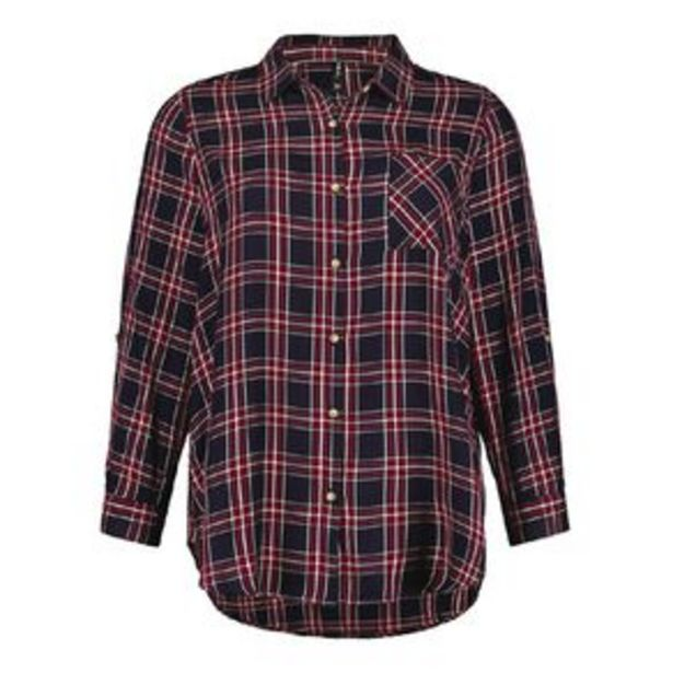 H&H Plus Women's Check Shirt offer at $7.97