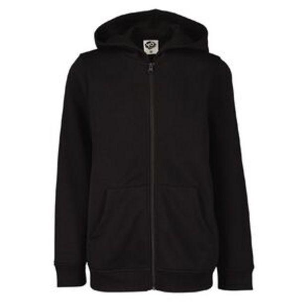 Young Original Plain Zip-Thru Hoodie offer at $6.98