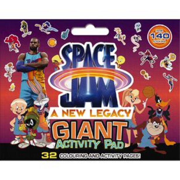 Space Jam #2 Giant Activity Pad offer at $10