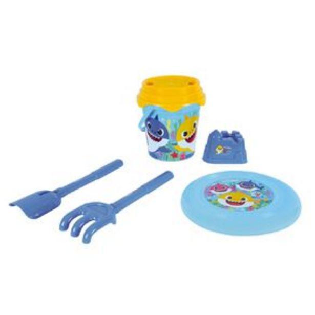 Baby Shark Beach Bucket Set offer at $12